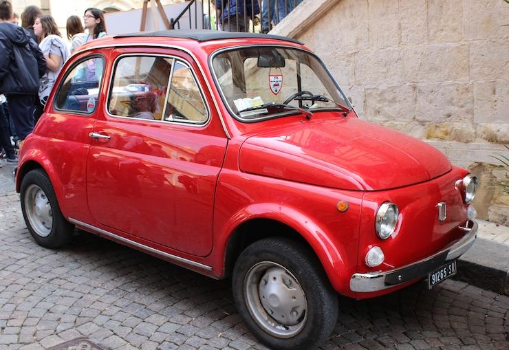 Fiat 500, Sicily. Copyright Gretta Schifano