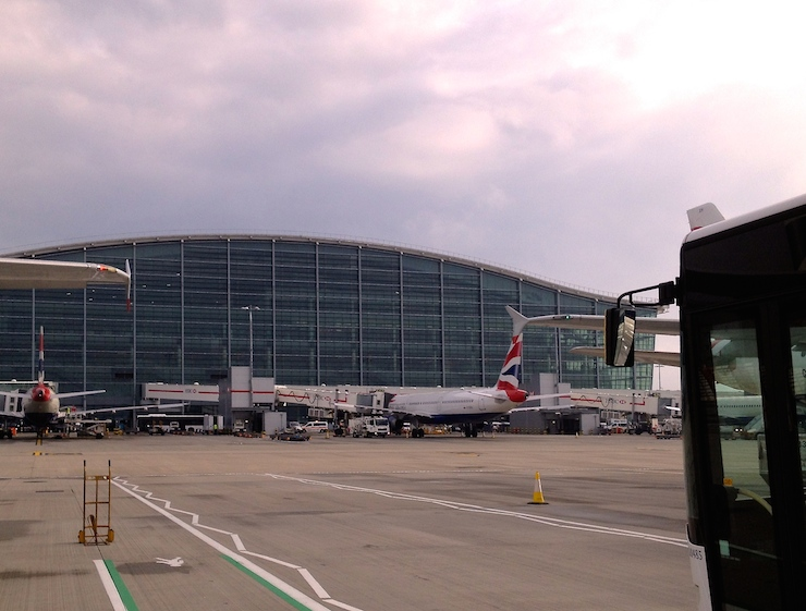 London Heathrow Airport T5. Copyright Gretta Schifano