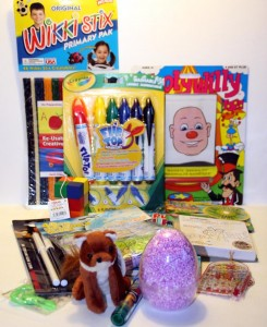 Something for Everyone Goody Bag. Image courtesy of Take Me Toys.
