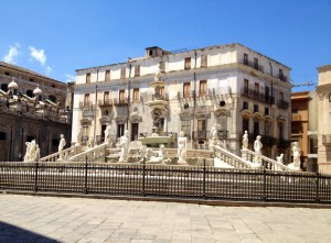 'Square of shame', Palermo. Copyright Gretta Schifano