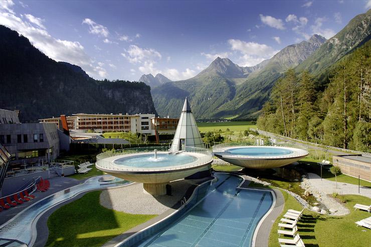 Aqua Dome, Ötztal valley, Austria