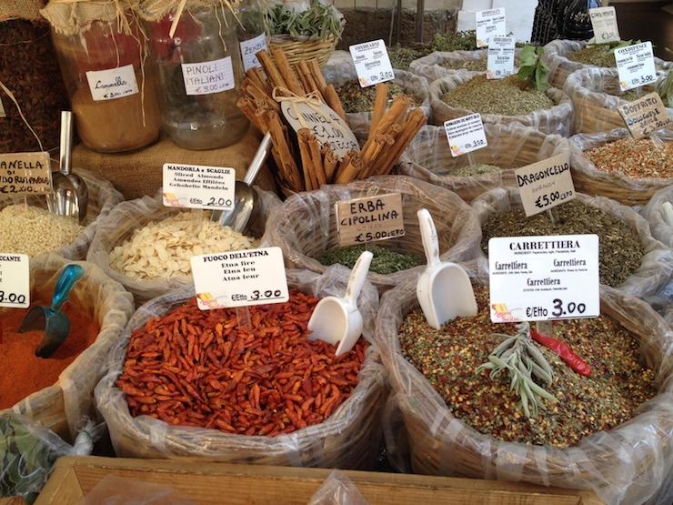 Syracuse market. Copyright Gretta Schifano