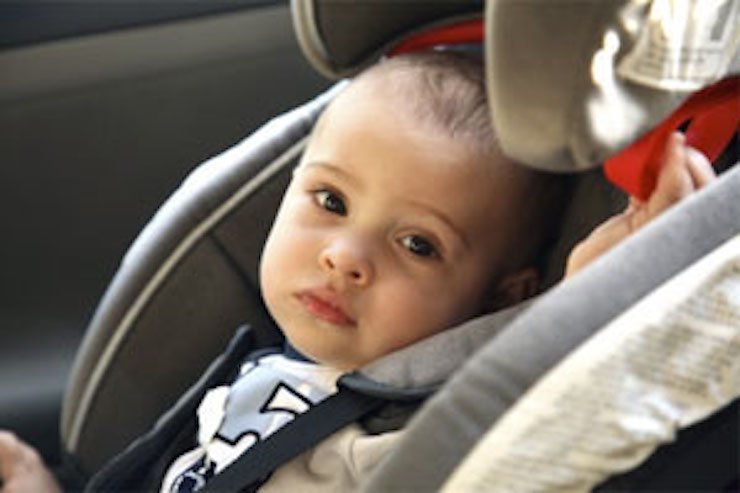 Baby in a car seat. Image courtesy of Which?