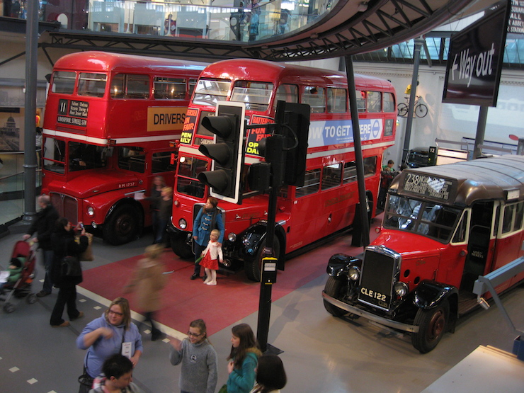 London Transport Museum. Copyright Gretta Schifano