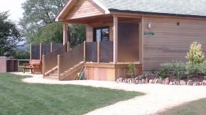 Primrose log cabin, Tor Fram. Image courtesy of Tor Fram.