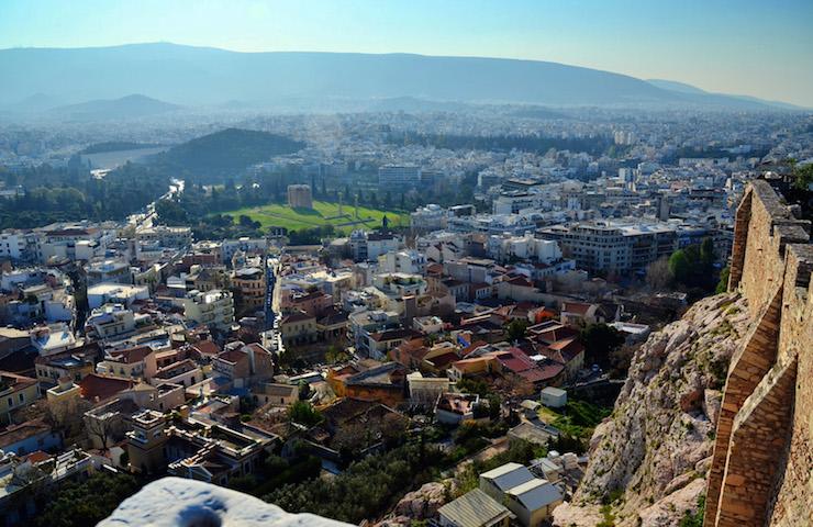 Acropolis view southeast. Image courtesy of DiscoverGreece.com
