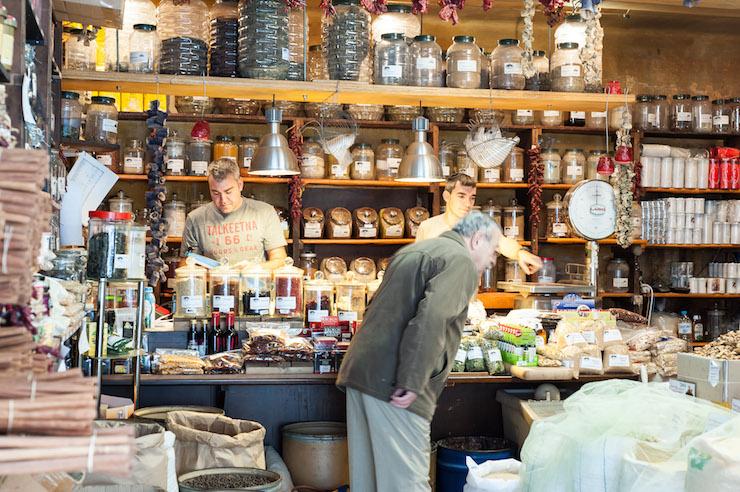 Athens herb store - Photo by Jojo Nicdao. Image courtesy of DiscoverGreece.com