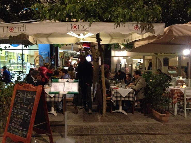Liondi Restaurant, Athens. Copyright Gretta Schifano