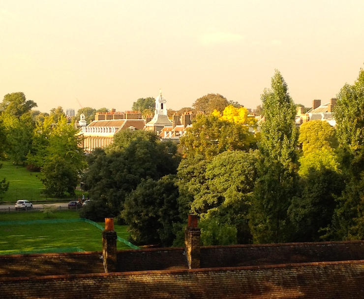View of Kensington Palace from our hotel room. Copyright Gretta Schifano