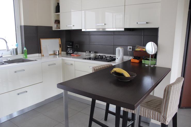 Kitchen, Athens apartment. Copyright Gretta Schifano