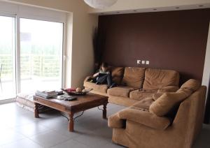 Living room, Athens apartment. Copyright Gretta Schifano