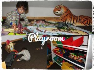 Playroom, Coombe Mill farm. Copyright Ting Dalton