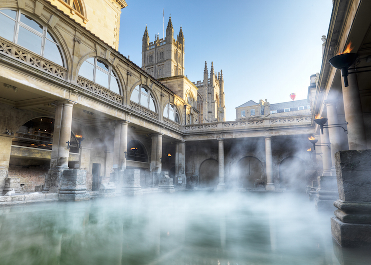 Roman Baths, Bath Credit: visitbath.co.uk Copyright: Bath Tourism Plus / Colin Hawkin