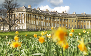 Royal Crescent, Bath Credit: visitbath.co.uk Copyright: Bath Tourism Plus / Colin Hawkins