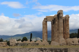 Temple of Zeus, Athens. Copyright Gretta Schifano