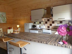 Trevano Lodge kitchen, Coombe Mill. Copyright Ting Dalton