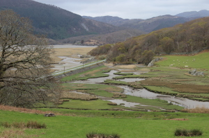 View from Graig Wen, Snowdonia, Wales. Copyright Gretta Schifano