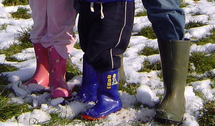 Wellie boots. Copyright Gretta Schifano