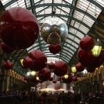 Covent Garden Christmas decorations. Copyright Gretta Schifano