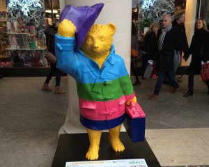 Paddington Bear by Darcey Bussell. Copyright Gretta Schifano