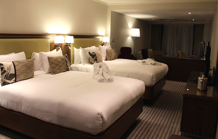 Queen Superior room, Hilton London Metropole. Copyright Gretta Schifano