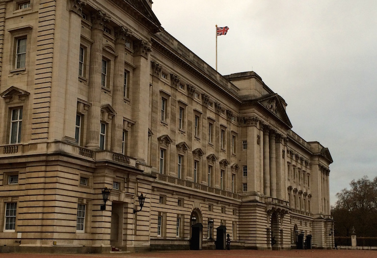 Buckingham Palace, London. Copyright Gretta Schifano