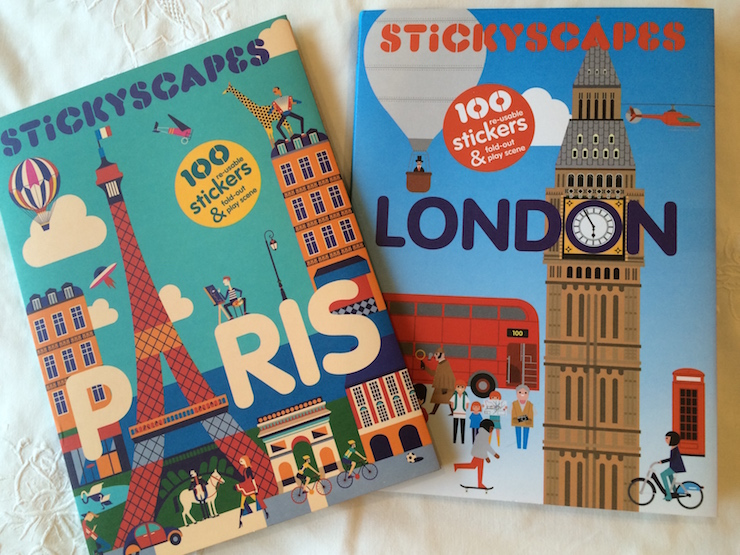 Stickyscapes London & Paris