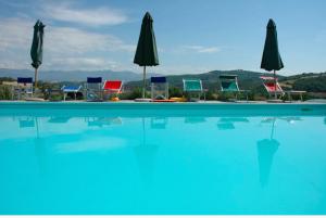 Villa Pia pool. Image courtesy of Villa Pia.