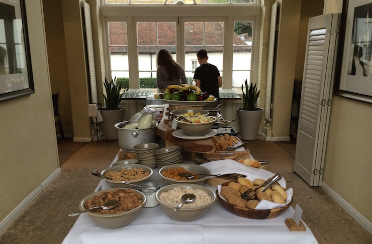Breakfast buffet at The Richmond Arms. Copyright Gretta Schifano