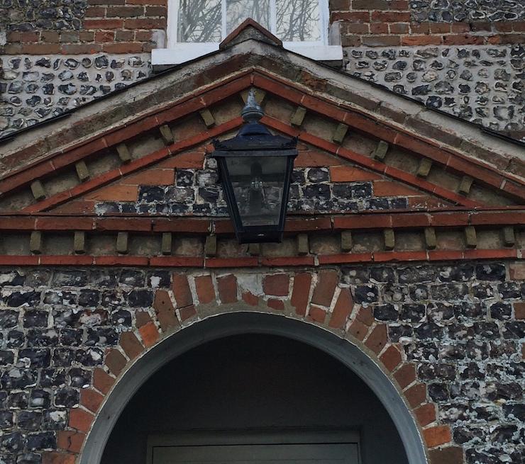Doorway at The Richmond Arms, Goodwood. Copyright Gretta Schifano