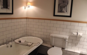 En-suite bathroom, Greta John Street Hotel. Copyright Gretta Schifano