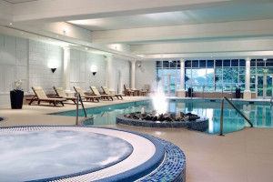 Goodwood Hotel pool. Image courtesy of the Goodwood Estate