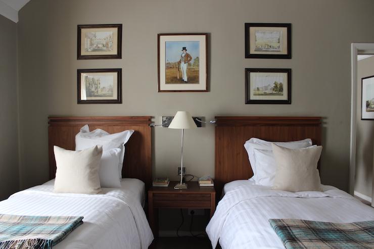 Goodwood Hotel twin room. Copyright Gretta Schifano