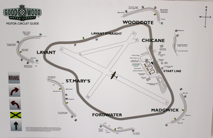 Goodwood Motor Circuit Guide