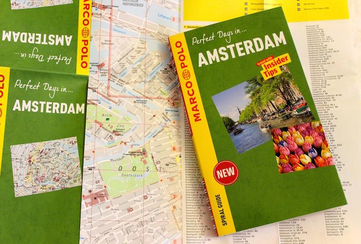 Marco Polo Amsterdam Spiral Guide. Copyright Gretta Schifano