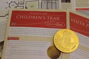 Westminster Abbey Children's Trail. Copright Gretta Schifano