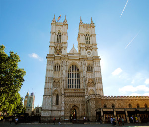Westminster Abbey. Image courtesy of Dan Pianesi, Westminster Abbey