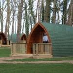 Port Lympne camping pods. Copyright Gretta Schifano