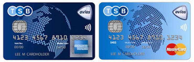TSB Avios card