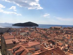Dubrovnik Old City and Lokrum island. Copyright Gretta Schifano