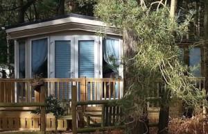 Lodge accommodation at Kelling Heath Holiday Park, Norfolk. Copyright Lorenza Bacino
