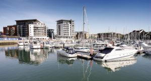 Ocean Village, Southampton. Image courtesy of Tourism South East