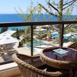 Balcony, Ikos Oceania. Copyright Gretta Schifano