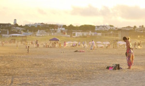 Beach in Jose Ignacio. Image copyright Sarah Gibbins