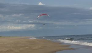Brava beach, Jose Ignacio, Uruguay. Image copyright Sarah Gibbins