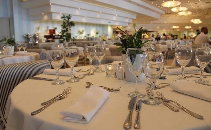 Flavors buffet restaurant, Ikos Oceania. Copyright Gretta Schifano