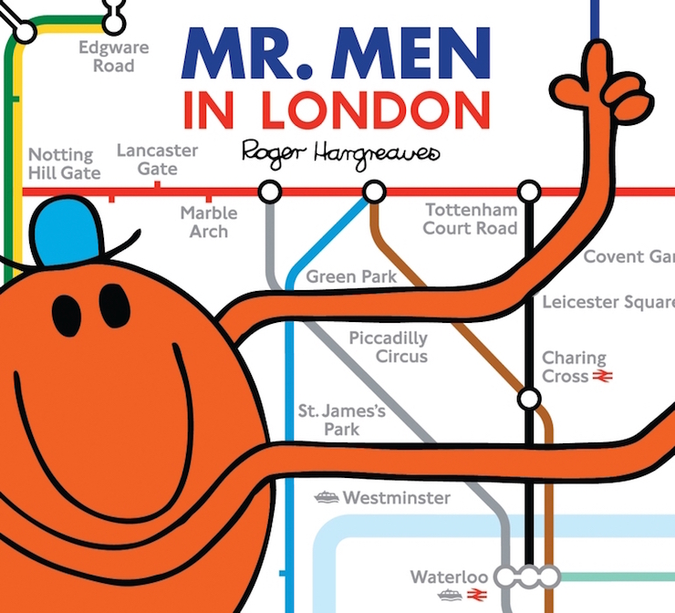 Mr Men in London. Image copyright Transport for London