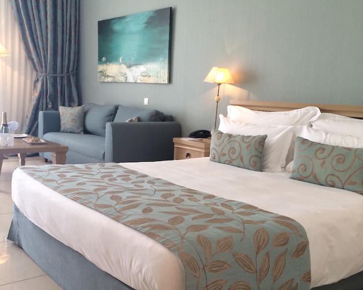 My room at Ikos Oceania. Copyright Gretta Schifano