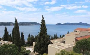 View of Adriatic from Dubrovnik Sun Garens resort, Dubrovnik. Image copyright Gretta Schifano