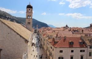 Centre of Dubrovnik. Copyright Gretta Schifano